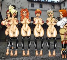 slave parade by Pichardettes
