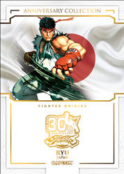 Street Fighter 30th Anniversary - Ryu by MrABBrown