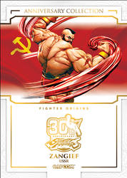 Street Fighter 30th Anniversary - Zangief by MrABBrown