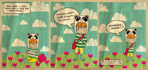 +panda lazy boy+ by bloodykirka
