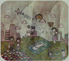 .belinda's illustration. by bloodykirka