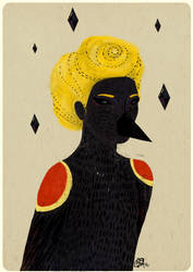 blackbird by bloodykirka