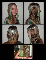 Arwen's Coronation Crown by SithielElenbereth