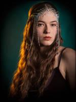 Arwen's Coronation Crown- Tiara version in Purple by SithielElenbereth