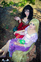 Your mother knows best - Rapunzel Cosplay by Angel--Arwen