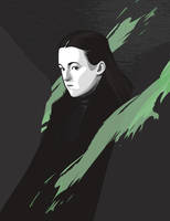 Lady Lyanna Mormont by iPeccatore