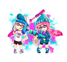Ink Girls by NaiLyn