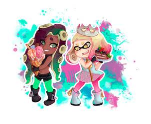 Marina and Pearl by NaiLyn