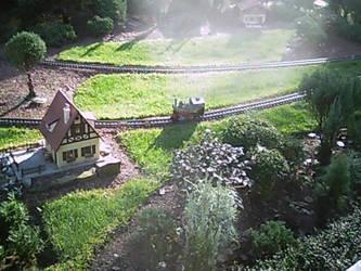 Miniture Train by blunose2772