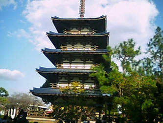 Japanese Pagoda by blunose2772