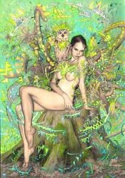 Tree Nymph by rodluff