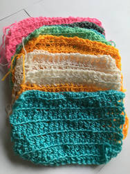 Crochet squares for a blanket  by Aylishliane12
