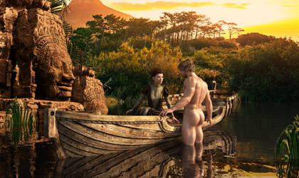 Tarzan and Jane (2) by achillias-da