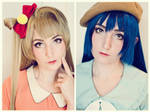 Kotori x Umi Makeup Test! by TotallyToastyAri