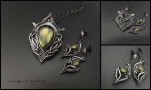 Transcendence - fine silver by rodicafrunze