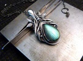 Elf pendant by rodicafrunze