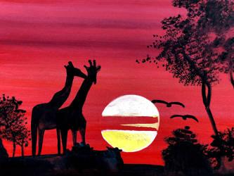 Africa by Rorqvist