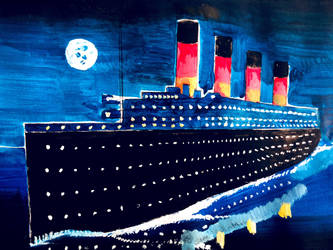RMS Titanic by Rorqvist