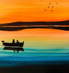 The lake by Rorqvist