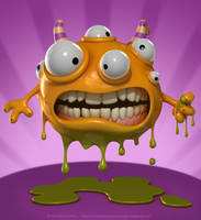 Monster Puddle by crazy3dman