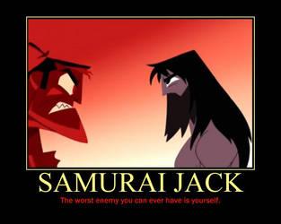 Motivational Samurai Jack by DarkonShadows