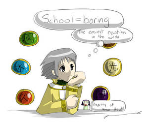 School equals boring by SaveTheETrees