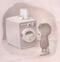 washing machine by reneefrench