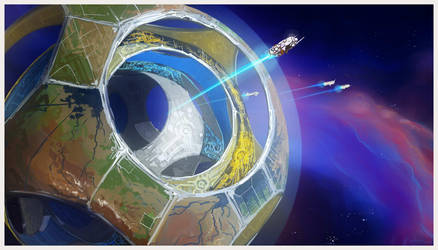 Artificial Planet by cyberkolbasa