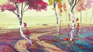 quick landscape 020814::Autumn by cyberkolbasa