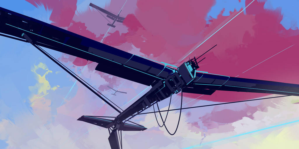 nonexistent sky by cyberkolbasa
