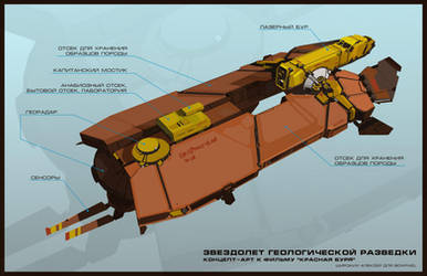 Starship geological exploration by cyberkolbasa