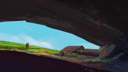 cave by cyberkolbasa