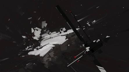 a fragment of meteorite by cyberkolbasa