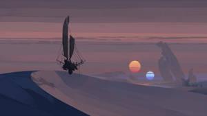 Double Sun by cyberkolbasa