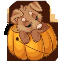 Sleepy Pumpkin by naida4