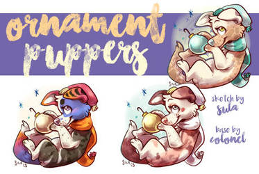 Ornament Puppers by naida4