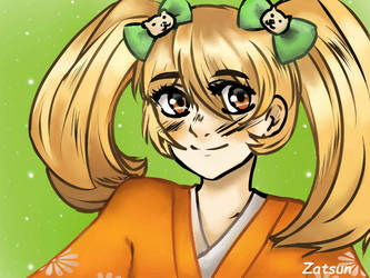 Hiyoko Saionji from Danganronpa by Za-tsun