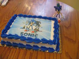 Sonic Cake by SonikkuForever