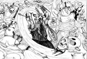 Dwarven Berserker by AlkiviadisX