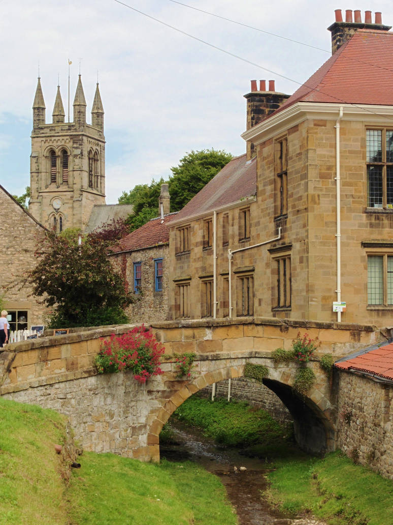 Traditional town - Helmsley, Yorkshire by ahappierlife