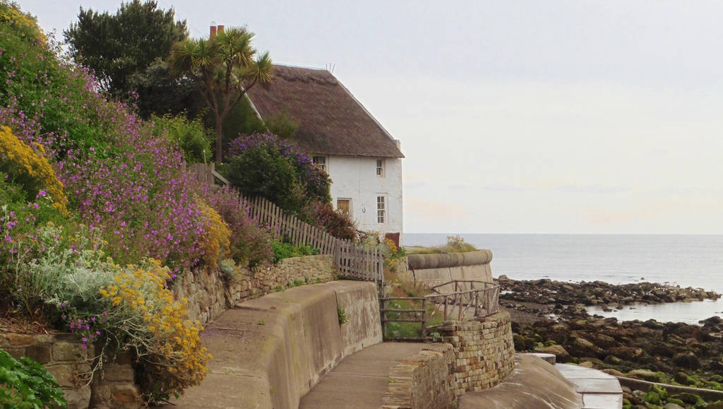 Traditional building - Runswick Bay by ahappierlife