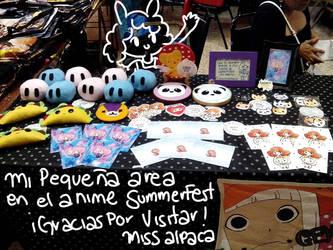 Miss Alpaca - Stand Anime Summer Fest by miss-alpaca