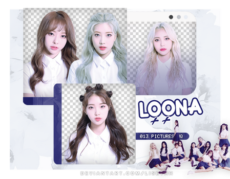 PACK PNG #41 // LOONA|++| by Lisethh