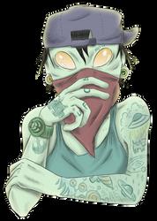 Alien tattoo by GakiRules