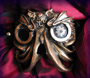 Steampunk Cthulhu Goggles by Namingway