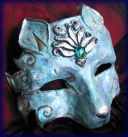 Nine Tailed Kitsune Mask by Namingway
