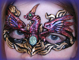 Dark Phoenix Mask by Namingway