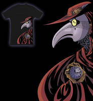 Steampunk Plague Doctor Shirt by Namingway