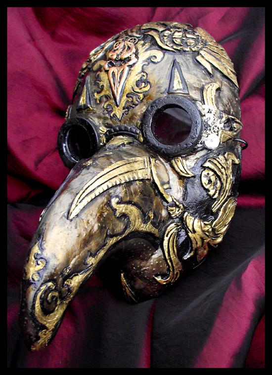 Steampunk Plague Doctor Mask by Namingway