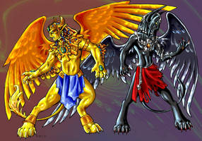 Duality of Sphinxes by Namingway